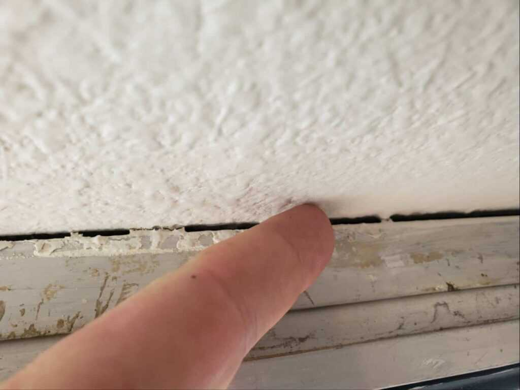 inspection defect caulking