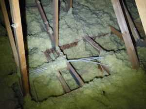 Inspection Defect Missing Insulation